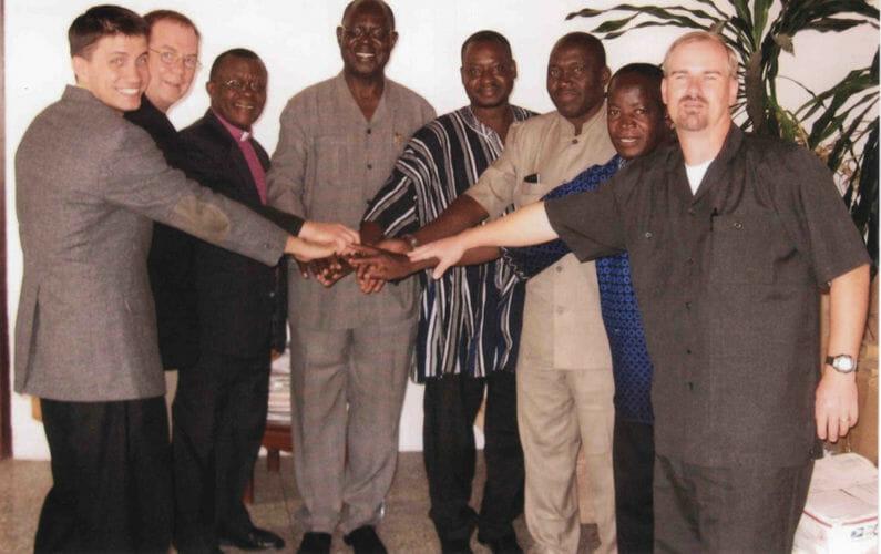 Bible Society of Ghana signing
