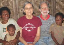 Missionary Maila Davies and Rev. John Davies