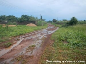 Ghanaian road