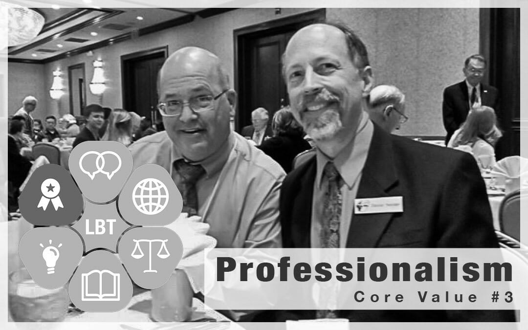 LBT Core Values – Professionalism