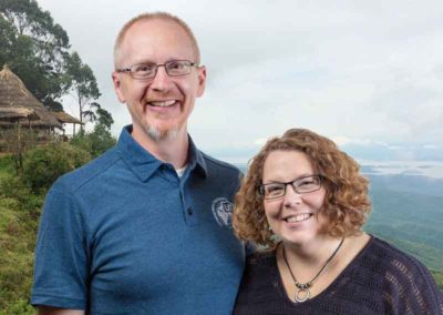 Dr. Chris and Janine Pluger