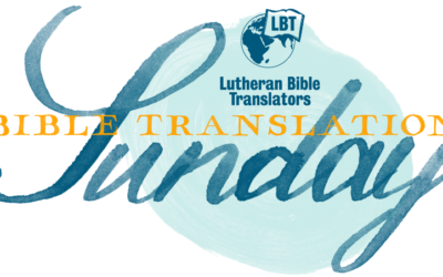 Bible Translation Sunday