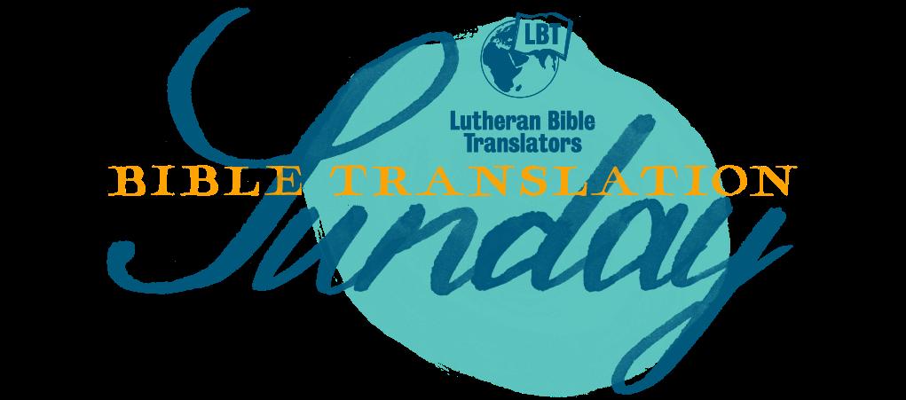 Bible Translation Sunday