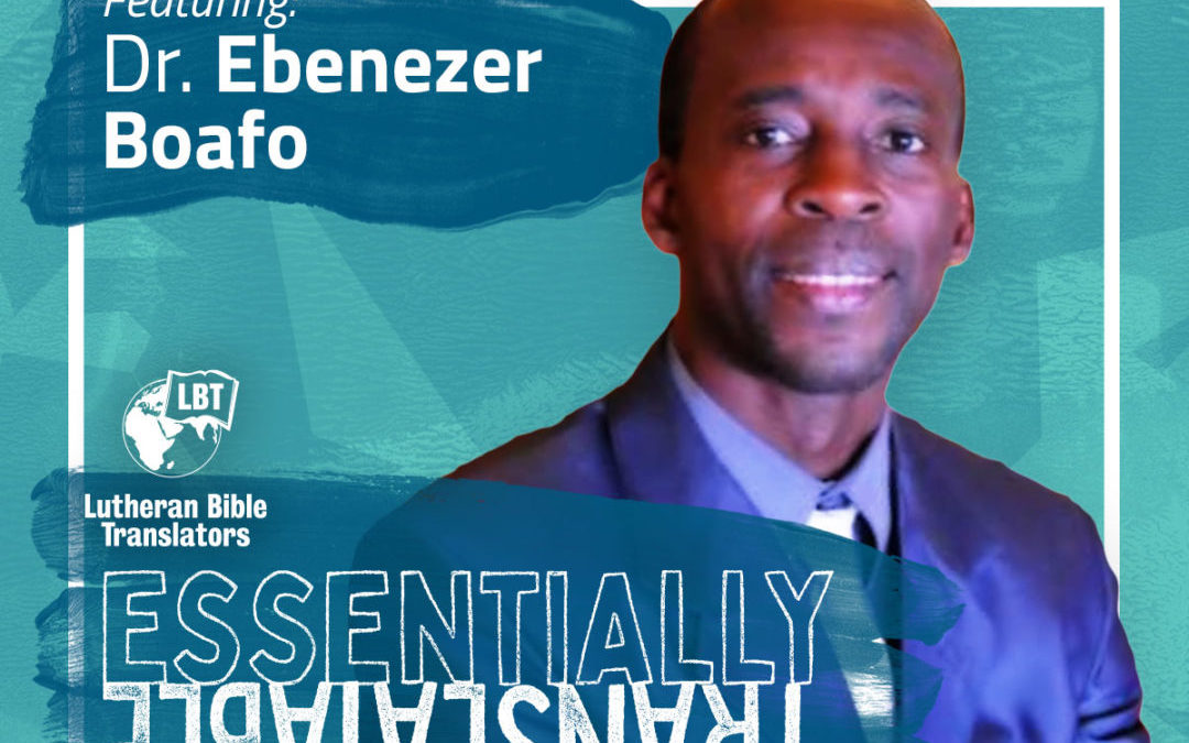 Essentially Translatable: Multi-Lingual Identity | Dr. Ebenezer Boafo