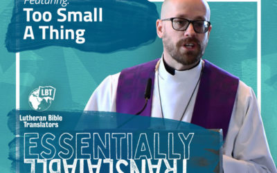 Essentially Translatable: Too Small a Thing | LBT Sermon Series