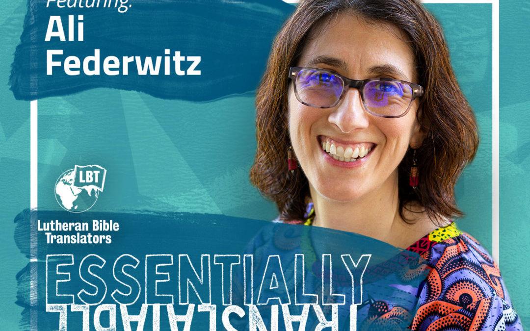 Essentially Translatable: Sabbath Rest | Ali Federwitz